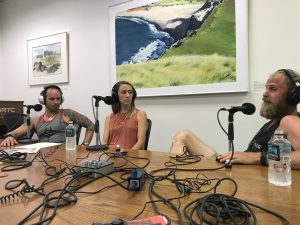 Amanda Eller Core Search Team - Javier Cantellops, Elena Pray and Chris Berquist being Interviewed for the Feel Good Running Podcast