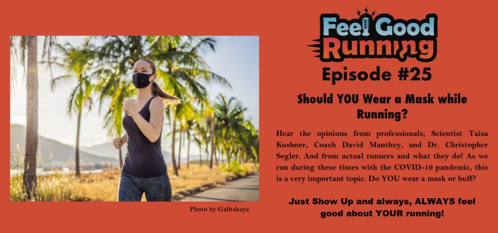 Should you wear a mask while running?